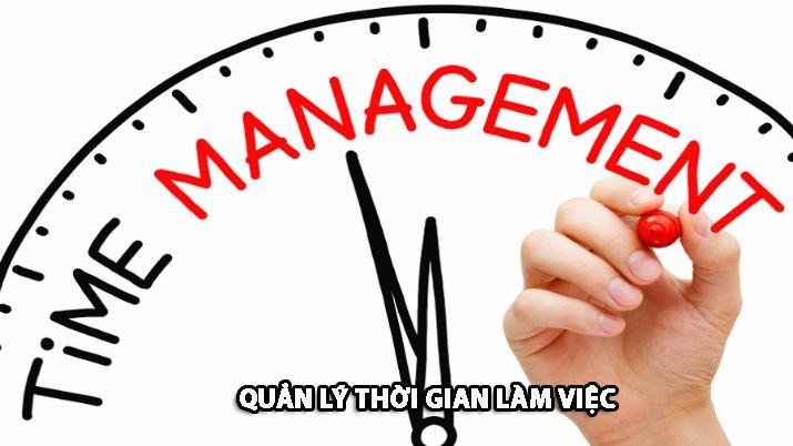 Quản lý thời gian làm việc