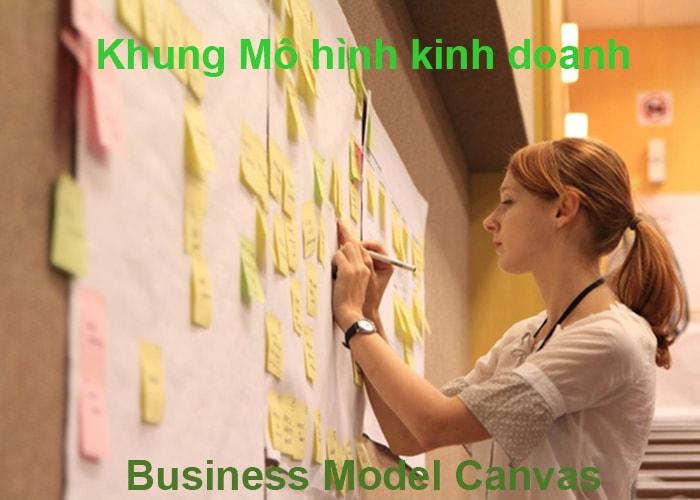 Khung mô hình kinh doanh - Business Model Canvas