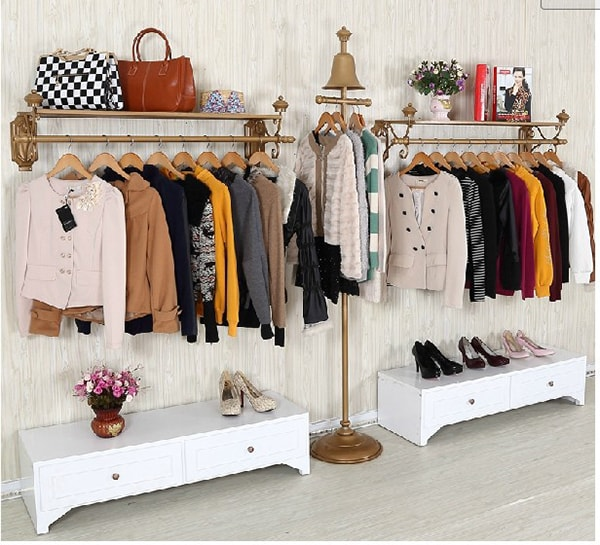 Cách trang trí shop quần áo nhỏ đẹp và thu hút khách hàng 3