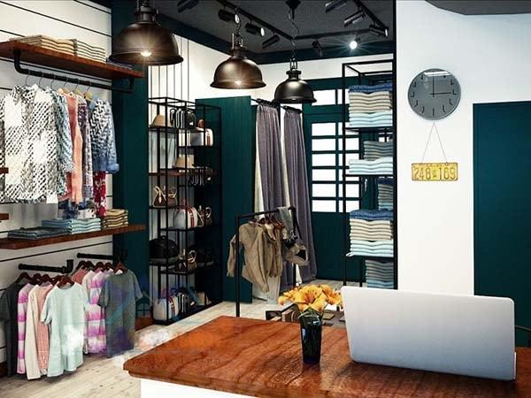 Cách trang trí shop quần áo nhỏ đẹp và thu hút khách hàng 4