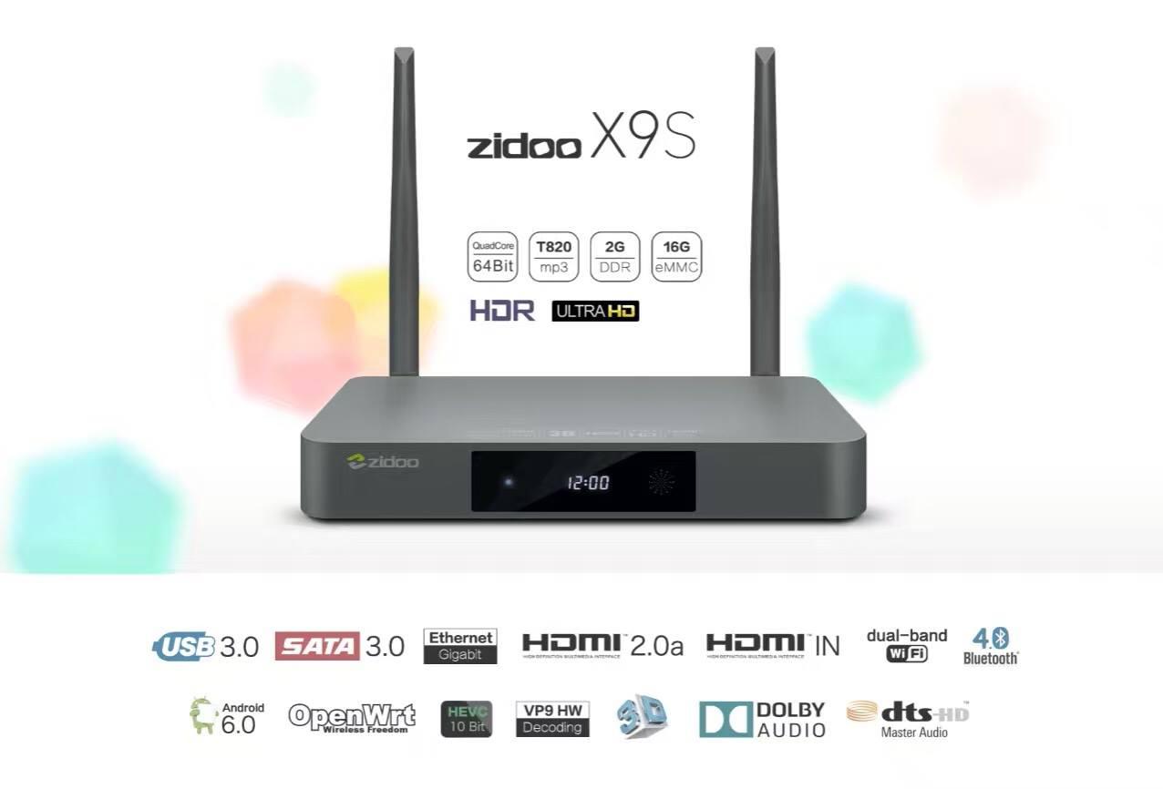 Tính năng nổi bật của Android TV Box Zidoo X9S 1