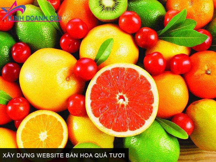 Xây dựng website bán hoa quả tươi