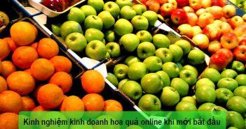 Kinh doanh hoa quả online
