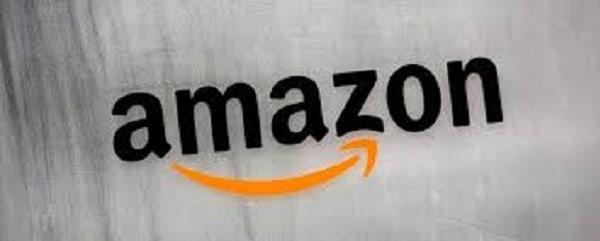 Logo trang bán hàng amazon