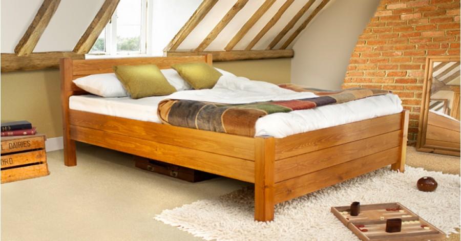 Giá giường gỗ có hộc kéo thực sự rẻ so với công năng