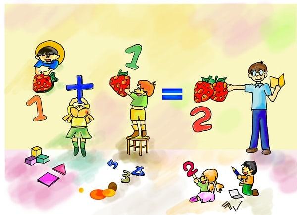 Liên hệ kiến thức toán học vào đời sống rất thú vị