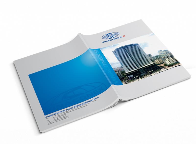 Thiết kế hồ sơ năng lực công ty