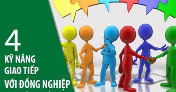 4 kỹ năng giao tiếp với đồng nghiệp nơi công sở