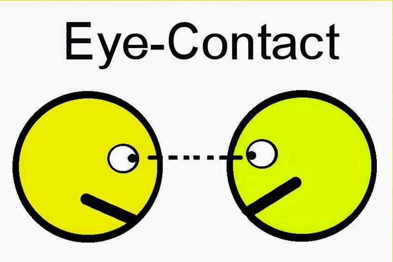 Giao tiếp bằng mắt - một trong những cách giao tiếp phi ngôn ngữ