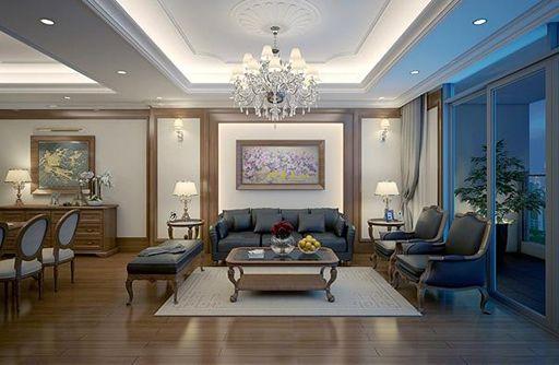 Nội thất trong chung cư được trang bị chất lượng tốt nhất
