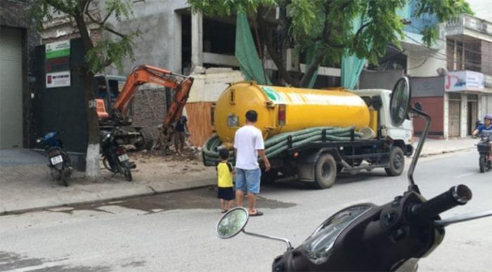 Hút bể phốt tại quận Thanh Xuân chuyên nghiệp