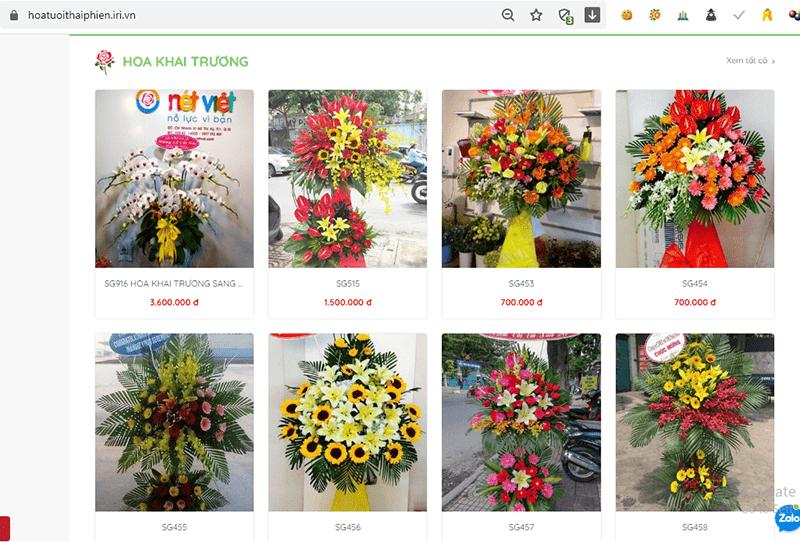 Hoa tươi Nét Việt Quận 11 - Dịch vụ gửi điện hoa tận nhà miễn phí