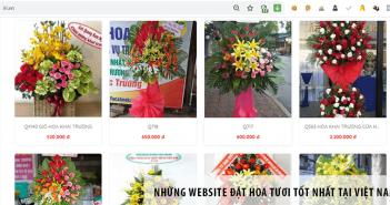 Những Website đặt hoa tươi tốt nhất tại Việt Nam