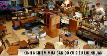 Kinh nghiệm mua bán đồ cũ siêu lợi nhuận