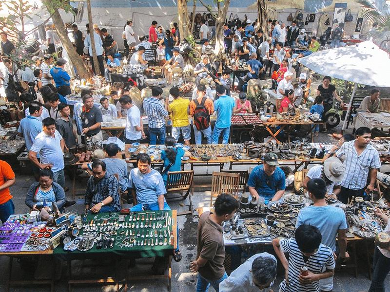 Chợ đồ cũ là lựa chọn của rất nhiều người khi cần mua đồ cũ