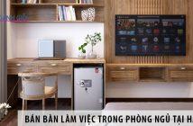 Nơi bán bàn làm việc trong phòng ngủ giá rẻ tại Hà Nội