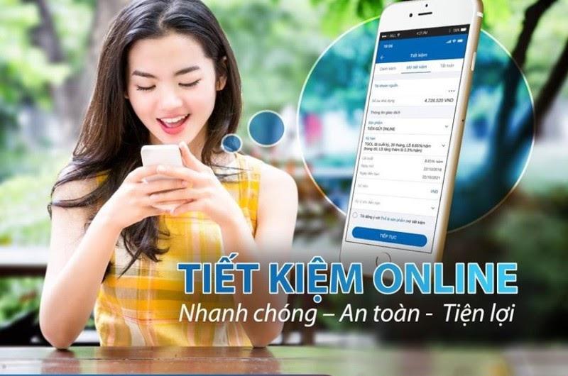 Gửi tiết kiệm online là xu hướng rất được người trẻ yêu thích