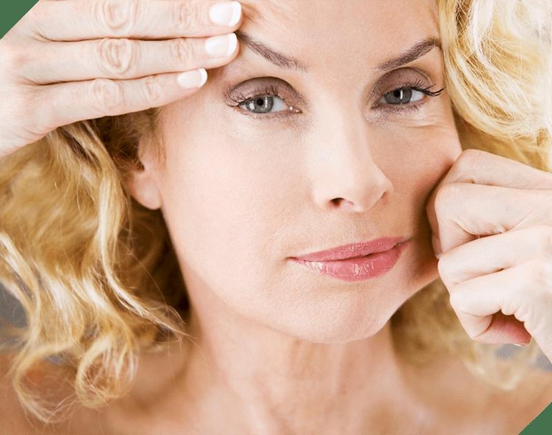 Phụ nữ tuổi 30 làn da đã bắt đầu xuất hiện nếp nhăn