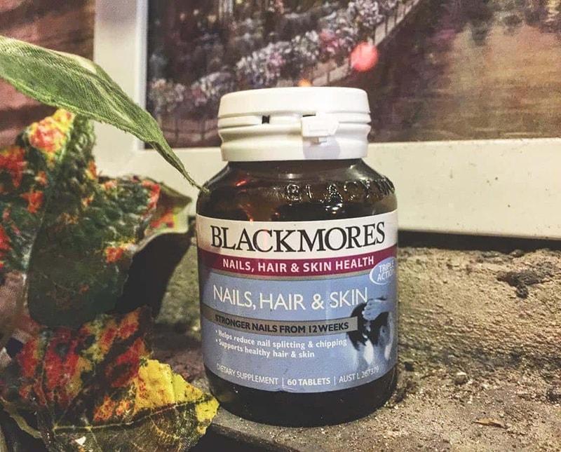 Viên uống Blackmores Nail Hair And Skin Của Úc